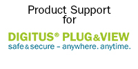 DIGITUS Plug&View Support Banner with Logo