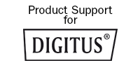 DIGITUS Support Banner with Logo