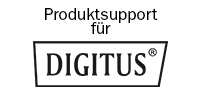 DIGITUS Support Banner mit Logo