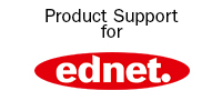 ednet. Support Banner with Logo