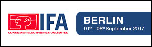 Assmann at IFA Exhibition Berlin Banner