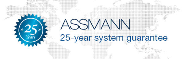 System warranty on ASSMANN products