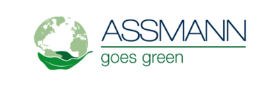 ASSMANN goes green Logo