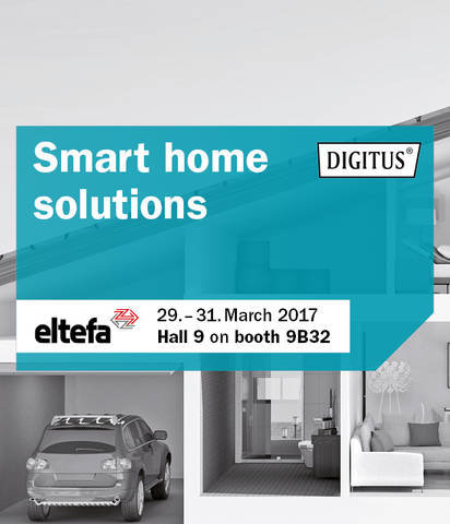 ASSMANN Electronic is presenting smart home solutions at the eltefa trade fair in Stuttgart